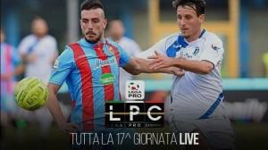 Andria-Catania Sportube: streaming diretta live su Blitz