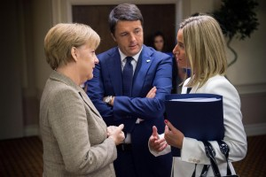 Guarda la versione ingrandita di Italia Oggi: Merkel vuole Federica Mogherini al posto di Renzi (Action Press - LaPresse)