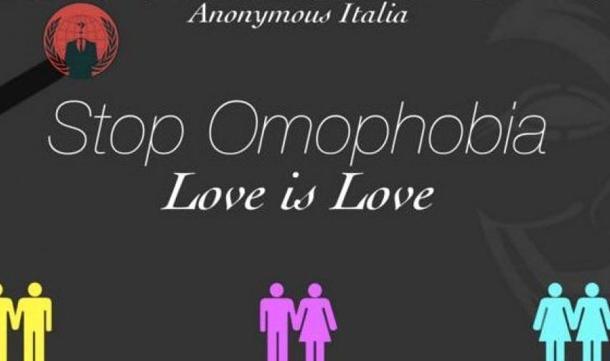 """Family Day, Anonymous: """"Avete figli gay ma non lo sapete"""""""