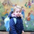 Kate Middleton: principino George, primo giorno d'asilo4
