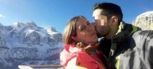Guarda la versione ingrandita di Daniela Ranzi con il compagno (foto Facebook)