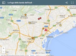 Guarda la versione ingrandita di I luoghi delle segnalazioni al 24 gennaio