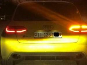 Audi gialla ricompare a Treviso: sfreccia col semaforo rosso