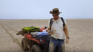 YOUTUBE Australia, Meteorite di 4,5 mld di anni nel deserto