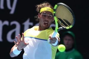 Guarda la versione ingrandita di Rafael Nadal nel match contro Verdasco