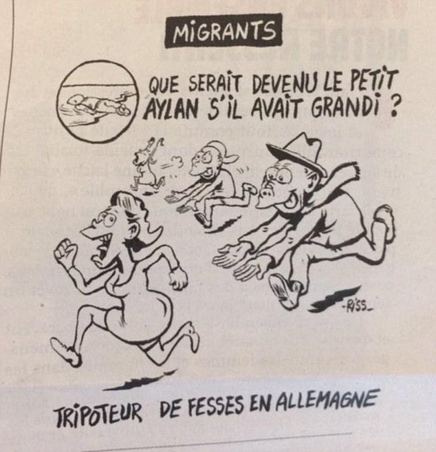 Rania di Giordania vs Charlie Hebdo: sua vignetta su Aylan 2