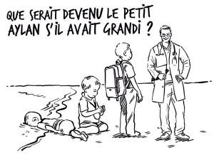 Guarda la versione ingrandita di Aylan Kurdi: la replica di Rania di Giordania a Charlie Hebdo