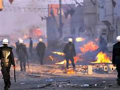 Gli scontri in Bahrein
