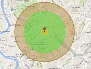 Guarda la versione ingrandita di Ecco cosa succederebbe se la bomba a idrogeno fosse sganciata su Roma