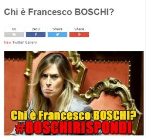 """Blog Beppe Grillo: chi è Francesco Boschi """"organico"""" alla P2?"""
