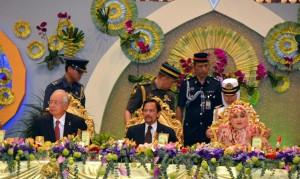 Guarda la versione ingrandita di Il sultano del Brunei (Foto Lapresse)
