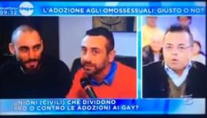Gianluca Buonanno contro coppia gay. E Gene Gnocchi...VIDEO