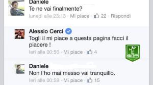 Alessio Cerci lascia Facebook e Twitter. E anche il Genoa...