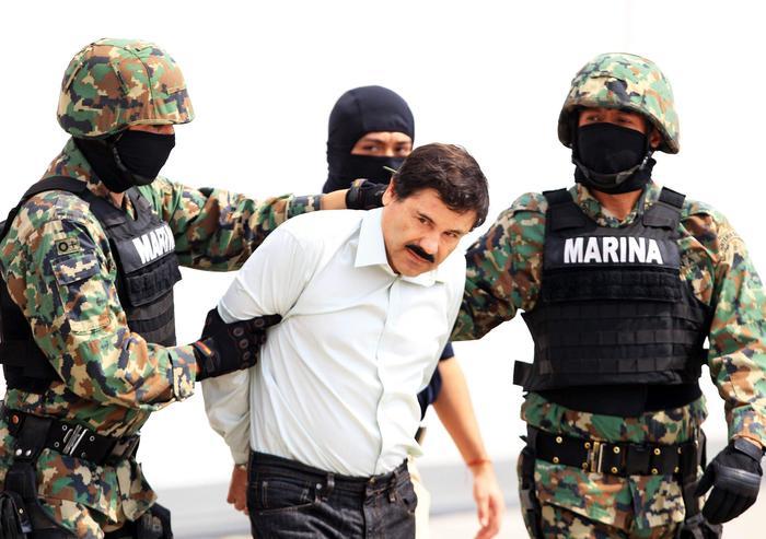 Messico, arrestato El Chapo: boss narcos in fuga da luglio04