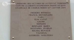 Charlie Hebdo: corretto nome Wolinski, ma targa sarà cambiata
