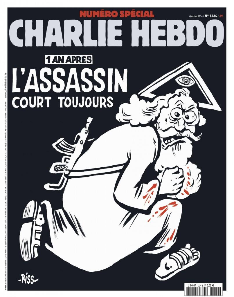 Charlie Hebdo: Dio fugge col mitra, rabbia vescovi FOTO
