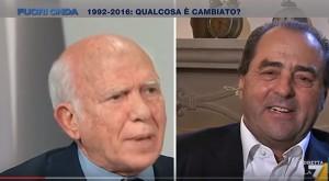 """YOUTUBE Cirino Pomicino a Di Pietro: """"Vediamo chi ha rubato"""""""