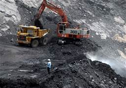 Una miniera di carbone