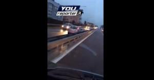 VIDEO Contromano in Tangenziale, insulti e urla dalle auto
