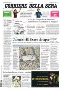 Guarda la versione ingrandita di Matteo Renzi, Pd, Quarto: prime pagine giornali