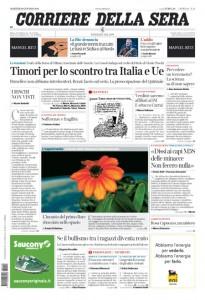 Guarda la versione ingrandita di Banche, migranti, Ue: le prime pagine dei giornali