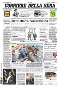 Guarda la versione ingrandita di Prime pagine dei giornali del 28 gennaio 2016