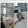 """Cristiano Giannessi si sveglia da coma: """"Vaccinatevi"""" FOTO"""