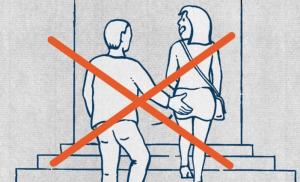 Svizzera, guida illustrata per migranti: non palpeggiare...
