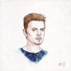 YOUTUBE David Bowie, gif animata Helen Green con i suoi look