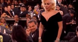 YOUTUBE Lady Gaga gomitata a DiCaprio: reazione lui è virale