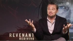 """YOUTUBE DiCaprio: """"Oscar per Revenant? Nelle mani di Dio..."""""""