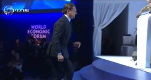 Leonardo DiCaprio premiato del Crystal Award a Davos VIDEO