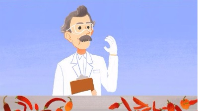 YOUTUBE Doodle Google celebra Wilbur Scoville e peperoncini