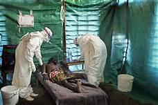 Un malato di ebola