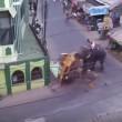 YOUTUBE India: Elefante impazzisce e distrugge tutto5
