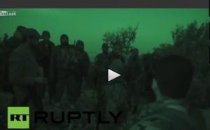 YOUTUBE Siria, soldati avanzano nella notte. Obiettivo isis