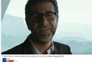 YOUTUBE Fabio Fazio nello spot Tim. Rischia radiazione da…