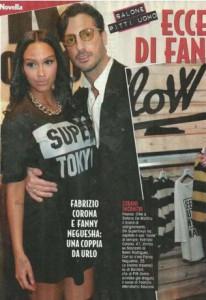 Fabrizio Corona e Fanny Neguesha, è amore?