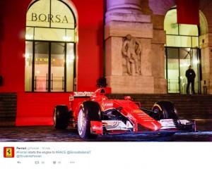 Ferrari debutta in Borsa a Piazza Affari VIDEO