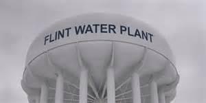 Serbatoio di acqua a Flint