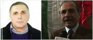Guarda la versione ingrandita di Il boss Michele Zagaria e l'ex sindaco di Casapesenna, Fortunato Zagaria