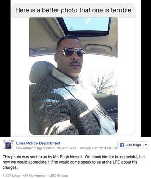 FOTO segnaletica non gli piace: alla Polizia manda una nuova