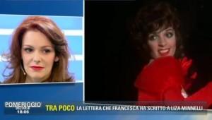 """Guarda la versione ingrandita di Francesca Tartaglia in tv: """"Sono figlia di Liza Minnelli"""""""