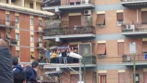 Frosinone-Napoli: napoletani in trasferta...sul balcone FOTO