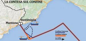 """Fossa gamberoni Liguria: Francia ci """"ruba"""" un pezzo di mare"""
