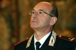 Guarda la versione ingrandita di L'ex comandante del Ros, generale Giampaolo Ganzer, in una foto di archivio.