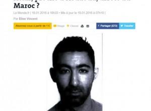 Guarda la versione ingrandita di Gelel Attar, legato a terroristi Parigi, è nato in Italia