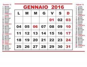 Bufala gennaio 2016: cinque domeniche, porta soldi
