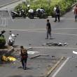 Giacarta, attentato Isis FOTO choc: morti e feriti per terra6