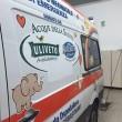 Gigi D'Alessio regala ambulanza. Ma cancellano suo nome FOTO3